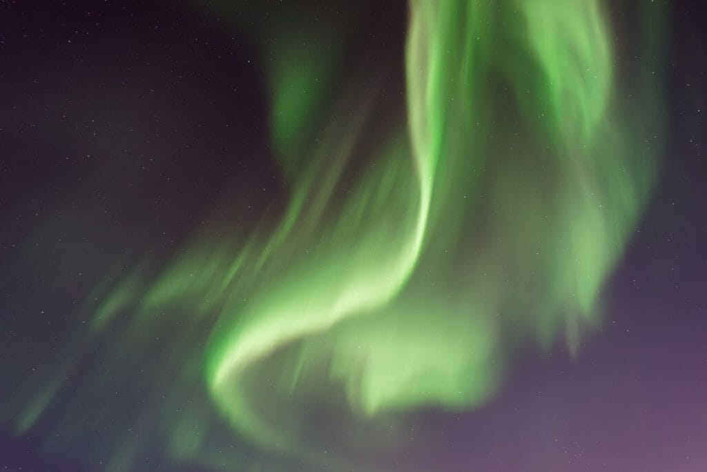 Photo of the Aurora borealis by Vincent Guth from Unsplash